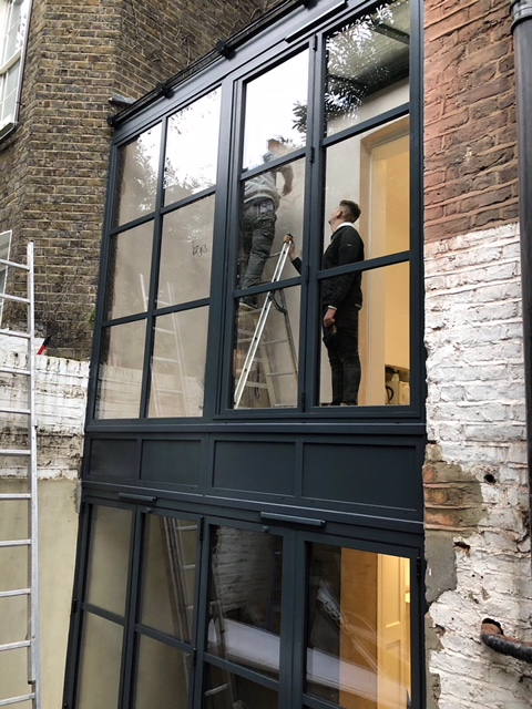 Chelsea London Aluminium Bi Fold Doors Fixed Windows Lean