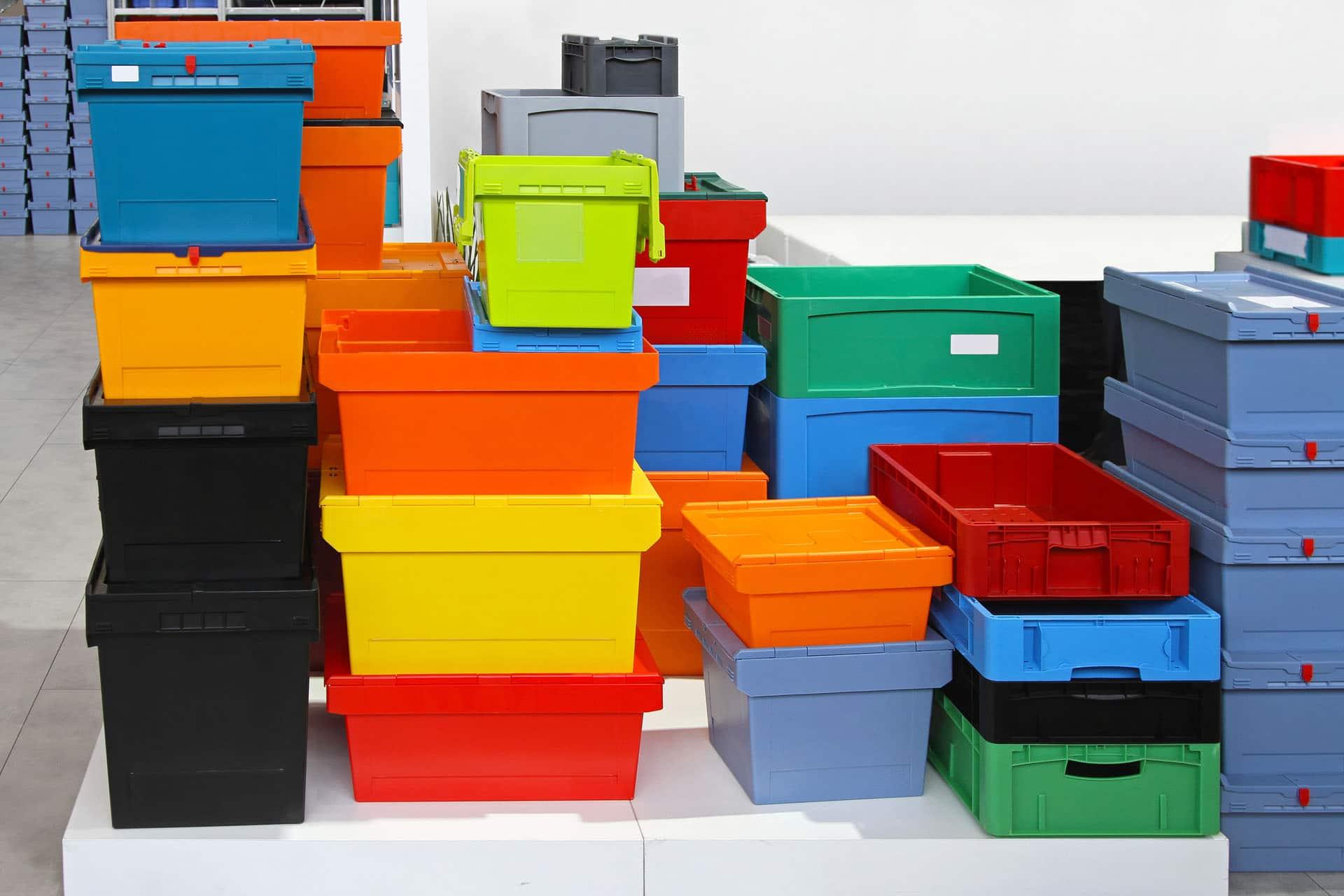 Plastkasser Til Organisering Stort Udvalg Af Opbevaringskasser