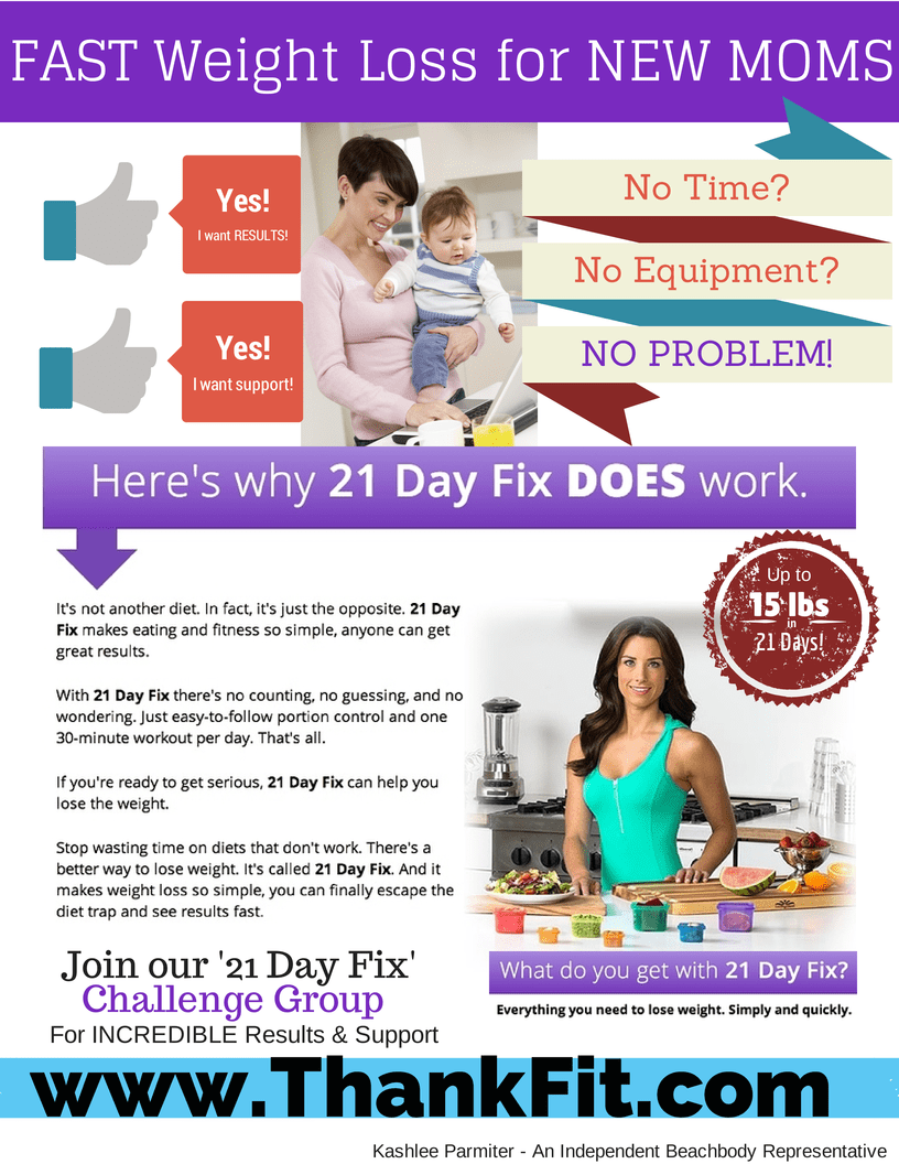 Fast Weight Loss New Moms