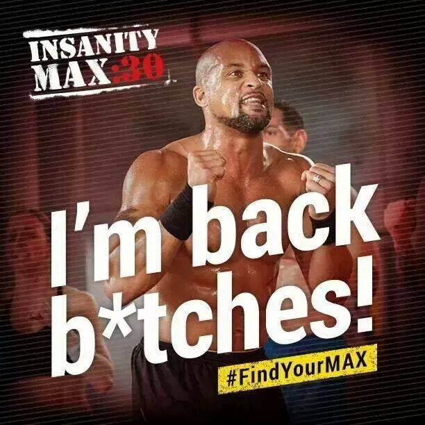 Own 2015 with Beachbody's Insanity MAX 30!