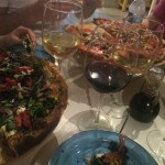 Wine and Pizza at Rustica