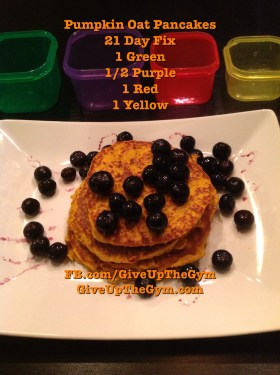 21 Day Fix Pancakes