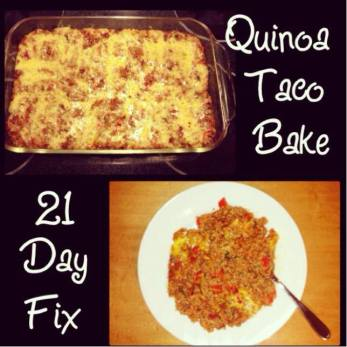 21 Day Fix Taco Bake