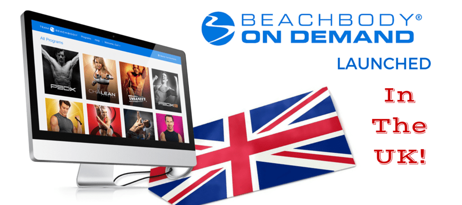 Beachbody on Demand Launched in the UK (and COACHING is coming!)