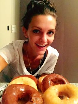 Homemade donuts Kashlee
