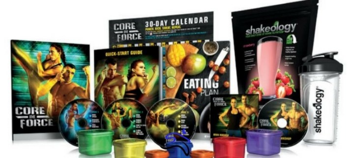 challenge pack core de force shakeology