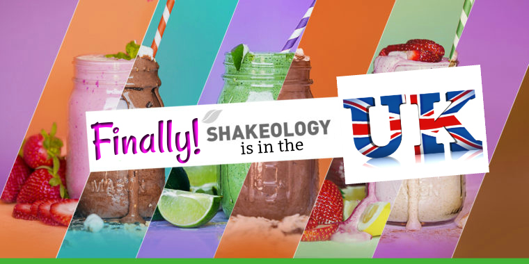 Shakeology is NOW in the UK!