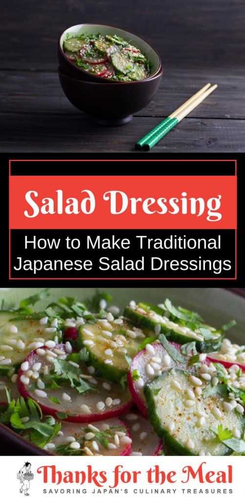 Traditional Japanese salad dressings guide