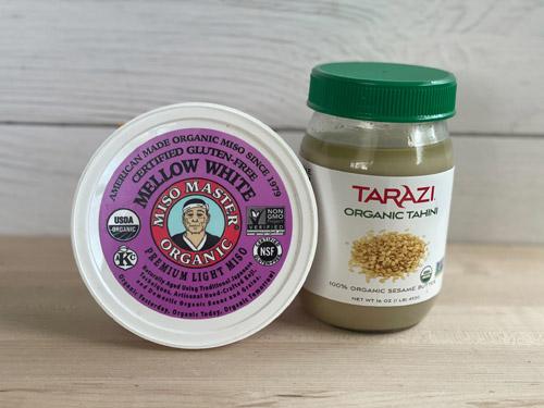 miso and tahini