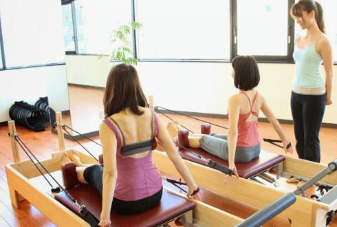 zen place pilatesス川崎レッスン風景