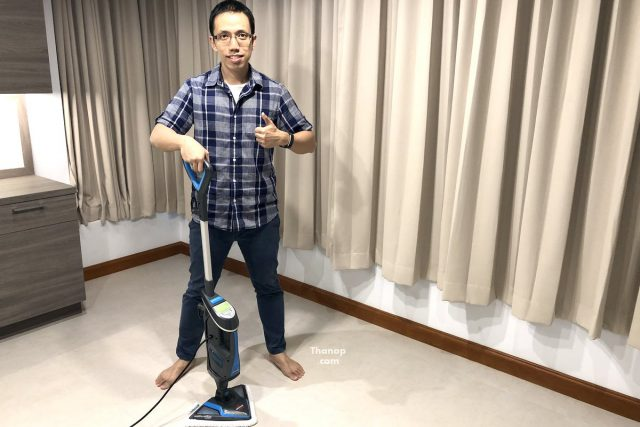 BISSELL PowerFresh Lift-Off Using as a Steam Mop