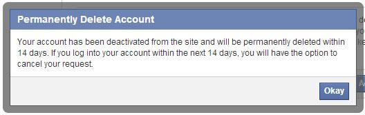 كيف تقوم بحذف حسابك على الفيس بوك نهائيا