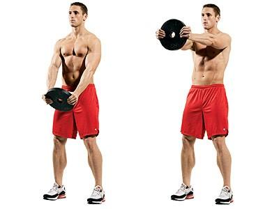 10 تمارين تعمل علي تقوية عضلات الكتف10