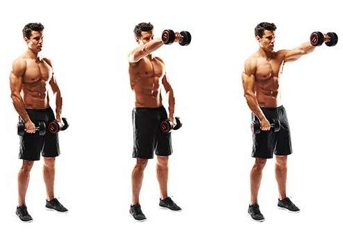 10 تمارين تعمل علي تقوية عضلات الكتف11