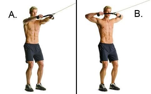10 تمارين تعمل علي تقوية عضلات الكتف9