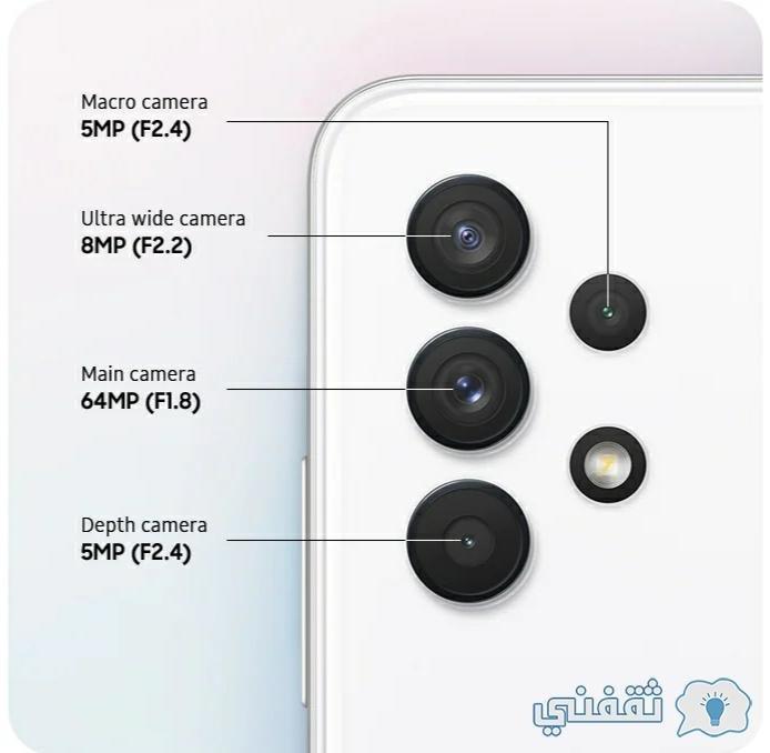 Samsung A32 phone camera