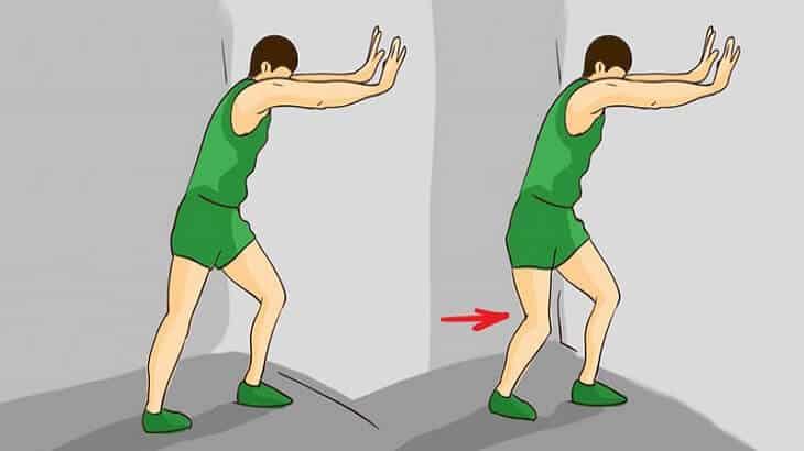 تمرين تمدد الساق