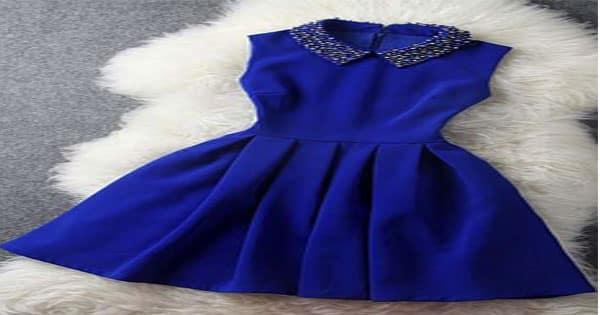 تفسير رؤية الفستان الأزرق في المنام