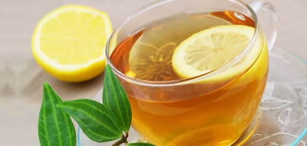 الشاي بالليمون على الريق ينحف الجسم معلومة ثقافية