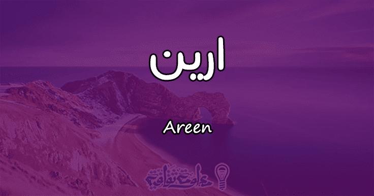 معنى اسم ارين Areen وصفات حاملة الاسم معلومة ثقافية