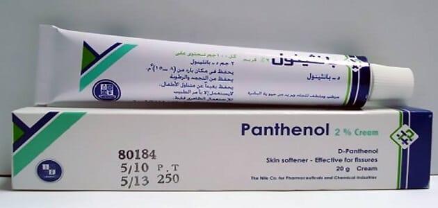 Panthenol cream to lighten the face, sensitive area and hair Panthenol cream to lighten the face, sensitive area and hair