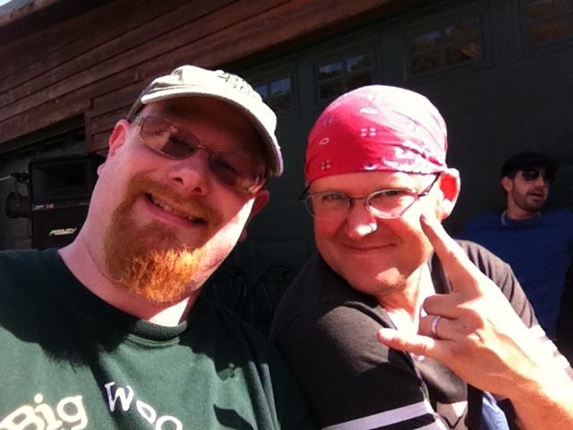 Neil and Jon Selfie