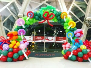 Christmas Balloon Arch Deocration Safra