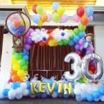 Balloon Rainbow Photoframe
