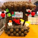Balloon Sushi Stall