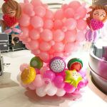 Large Balloon Heart Shape Sculpture