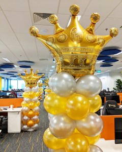 Balloon Decorations in Office Singapore