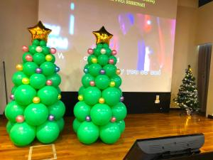 Christmas Balloon Tree Decorations