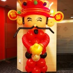 God of Fortune Balloon Sculpture