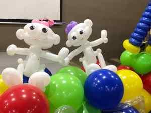 Robot Balloon Sculpture
