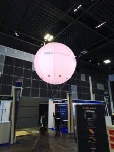 Lighted Giant Helium Advertising Balloon