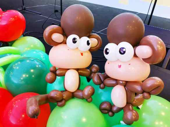 Balloon Monkey Sculpture Singpore