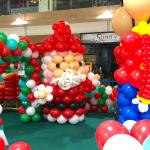 Giant Balloon Santa Claus Sculpture