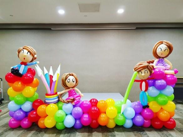 Rainbow Decorations for Kids Award Ceremony