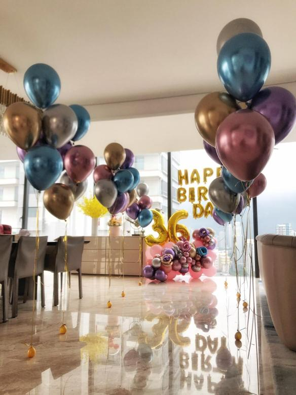 Birthday Party Balloon Decorations Singapore