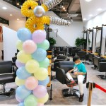 Balloon column decoration
