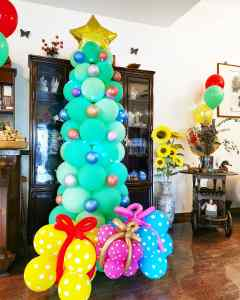 Balloon xmas Tree Decorations