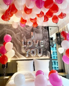 Surprise Room Styling Balloon Decoration