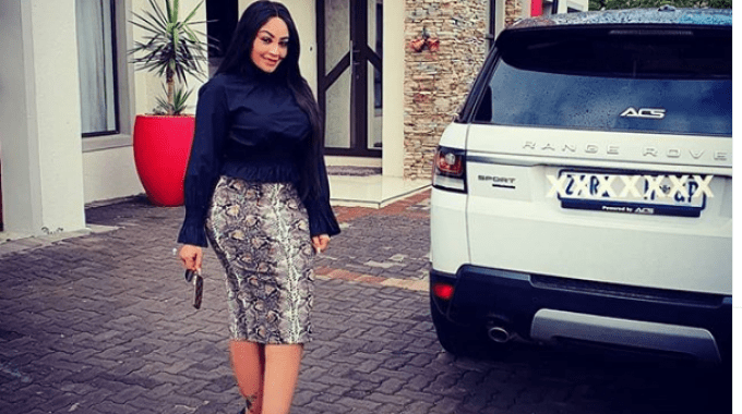 South African based socilate Zari Hassan