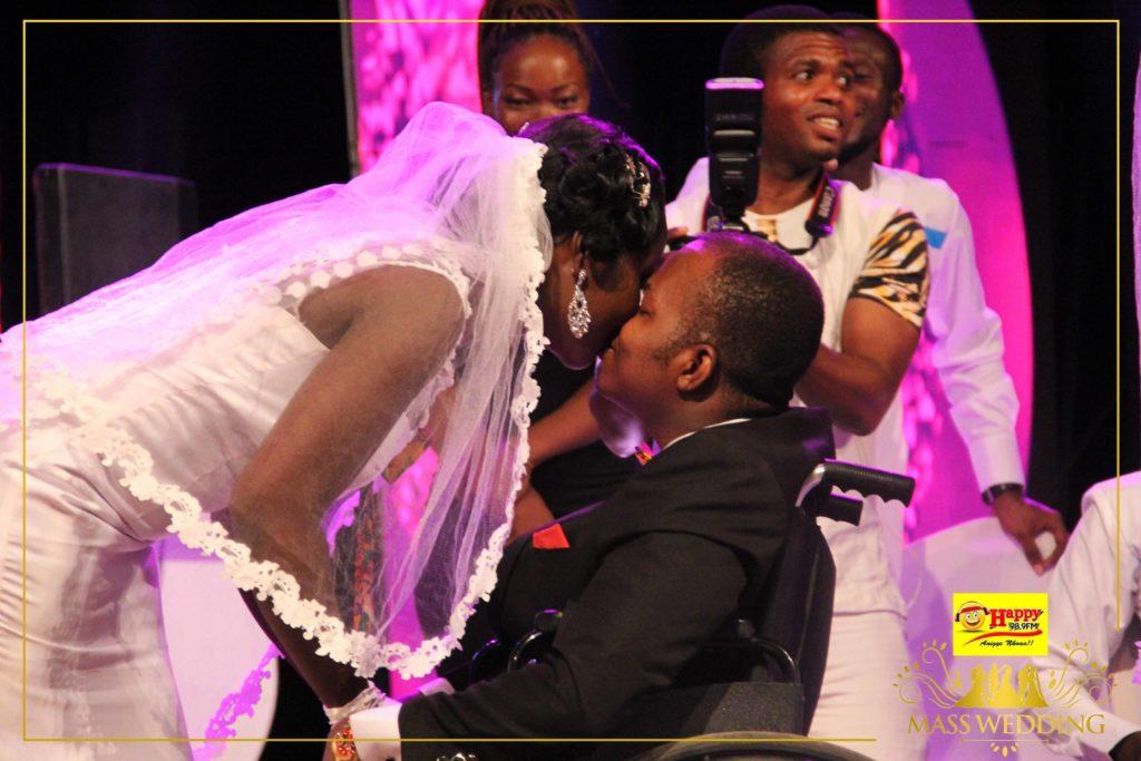 Man In Wheelchair Marries Girlfriend In A Beautiful Wedding