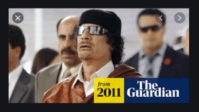 They will create the virus, pretend and sell the antidotes…. Gaddafi