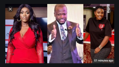 Busted! Akua GMB, Emelia Brobbey And Pastor Brian Amoateng Had An Affair Together – Afia Schwar Alleges