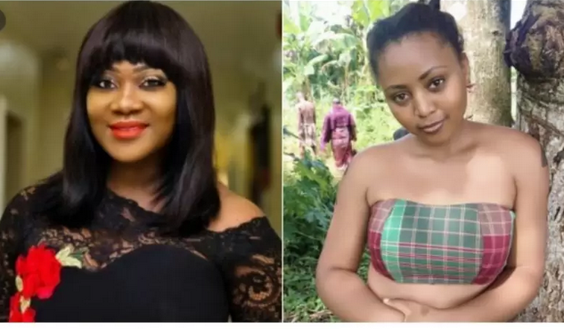Regina Daniels and Mercy Johnson