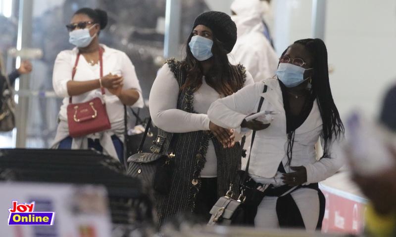 Ghanaian deportees from Kuwait
