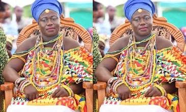 Manya Krobo Paramount Chief