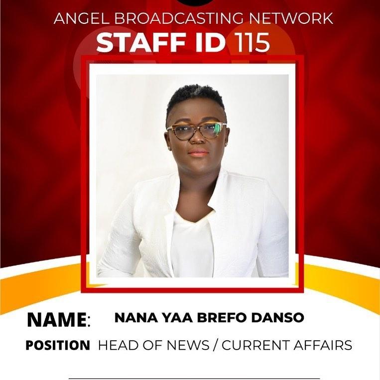 Nana Yaa Brefo reveals why she joined Angel Broadcasting Network
